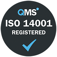 QMS ISO 140 registered